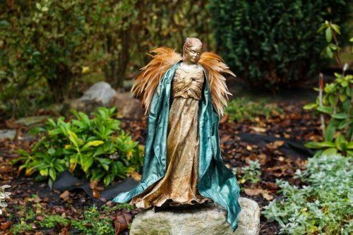 art dielo na objednávku anjel s perím
