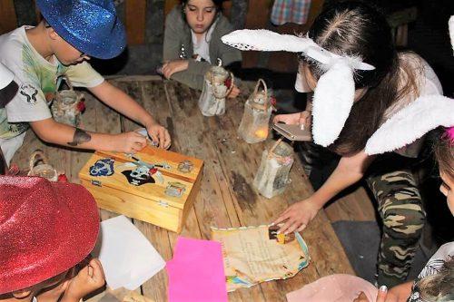 pirátska hra v detskom letnom tábore Fantázia