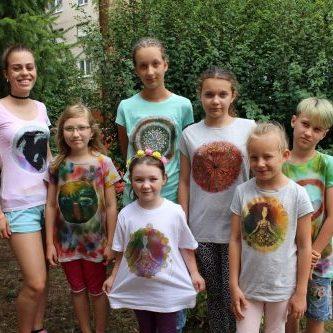 deti na dennom tábore Fantázia