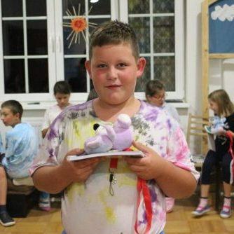 Jakub v detskom letnom tábore